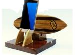Pranchas de surf madeira para decoração