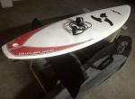 EPOXY 68 Malibu Evolution prancha de surf Funboard quilhas deck capa