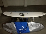 Epoxy 7.2 Malibu Evolution Longboard Prancha de surf quilhas leash capa