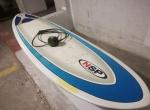 Epoxy Evolution Malibu NSP 68 Funboard prancha de surf quilhas deck