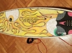 Evolution 6.5 Kauwai Performer prancha de surf + grip deck +quilhas FCS