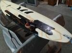 72 Malibu Evolution Funboard Prancha de surf Fins FCS
