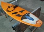 Semente Tiago Saca Pires Prancha de Surf 6 Evolution Performance deck fins