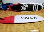 MAKOA 11.5 SUP Epoxy surf Evolution prancha de padlle fins deck +Extra