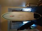 NSP 7.2 Epoxy Malibu Evolution Funboard Prancha de surf 7.2 Deck Fins +EXTRAS