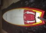 SMD 7.2 Epoxy Malibu Evolution Funboard Prancha de surf 7.2 Deck Fins +EXTRAS