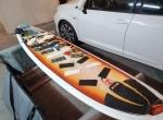 7.6 NSP Malibu Evolution Funboard prancha de surf