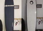 8.0 Malibu Evolution Funboard softboard prancha de surf