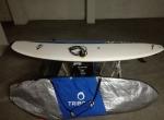 Epoxy 7.2 Malibu Evolution Longboard Prancha de surf quilhas leash capa
