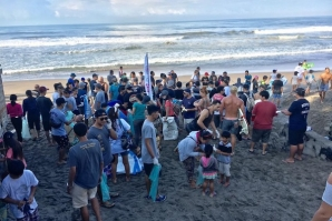 Bali's Biggest Beach Clean-up happened last 19 February 2017