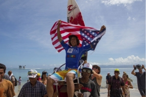 PAT CURREN WINS THE RIP CURL GROMSEARCH INTERNATIONAL