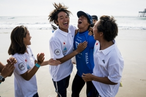 HISTORICAL WINING OF JAPAN IN THE ISA WORLD JUNIOR SURFING GAMES 2018