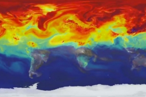 ANIMATION FROM NASA SHOWS THE PATH OF CARBON DIOXIDE