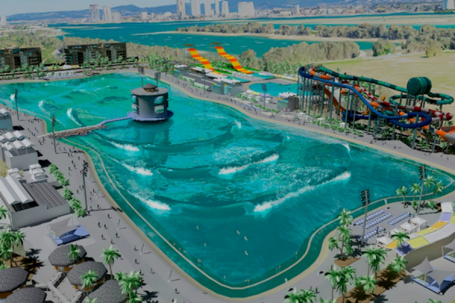 Mark Occhilupo backs ambitious 'next-level' Australian wave pool project