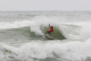 Wild Weather Conditions on the day two of Jaileshuei Surf Festival 2017