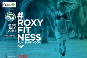 #ROXYFITNESS is a global tour with previous stops having already taken place in Barcelona (Spain), Hawaii, and Marseille (France), with more stops planned for Europe, USA and Australia.