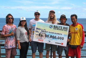 Quiksilver and Project Clean Uluwatu work together for a cleaner Bali