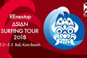 REnextop Asian Surfing Tour (RAST) Stop #1 at Kuta Beach in Bali all set to go from May 2-5