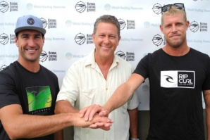 MICK AND JOEL WANT THE GOLD COAST TO BE A SURFING RESERVE