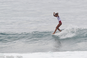 Women's Longboard and Shortboard Action on Day 1 of REnextop La Union in the Philippines