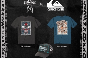 QUIKSILVER LAUNCHES KELOMPOK PENERBANG ROKET COLLECTION