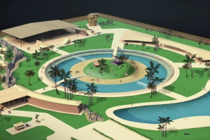 WAVE POOL IN PORTUGAL: INNOVATIVE PROJECT UNDERWAY