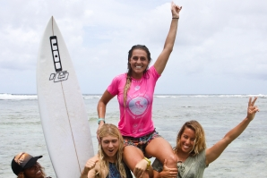 Philippa Anderson Victorious at Siargao International Women's Surfing cup