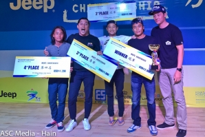 Asia Cup Men's and Women's Shortboard Division champions crowned