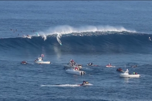 Biggest Jaws Barrel Ever Ridden by a Woman?