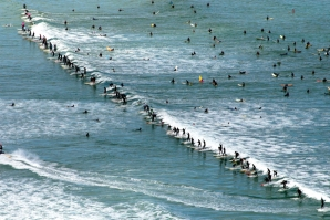 NEW SOUTH WALES SURFERS ARE GOING FOR A GUINNESS RECORD