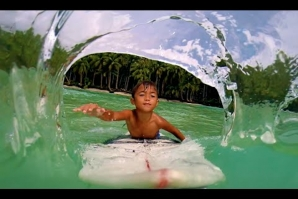 Kai Kai the 6 year old tube master