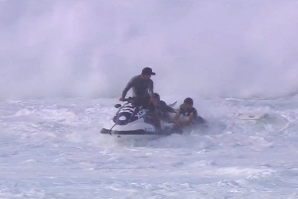 AN AMAZING RESCUE AT PIPELINE