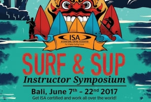 ISA Surf and SUP Instructor Symposium, to be held again in Bali
