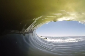 ANTHONY WALSH IN SKELETON BAY - NAMIBIA
