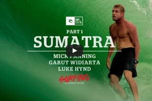 MICK FANNING GETS INSANELY BARRELLED IN SUMATRA