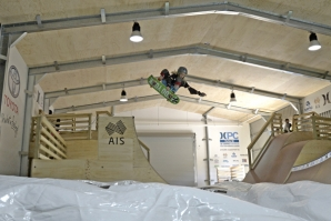 The most advanced aerial Surf Skate Training Facility