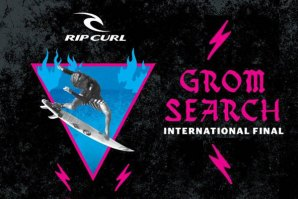Maresias recebe final internacional do Rip Curl Grom Search