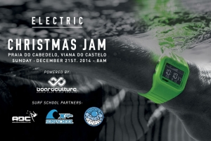 ELECTRIC CHRISTMAS JAM É JÁ NO DOMINGO