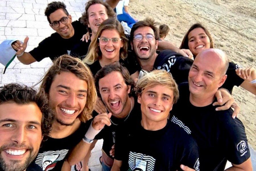 A equipa Portuguesa brilhou nos Isa World Surfing Games 2017