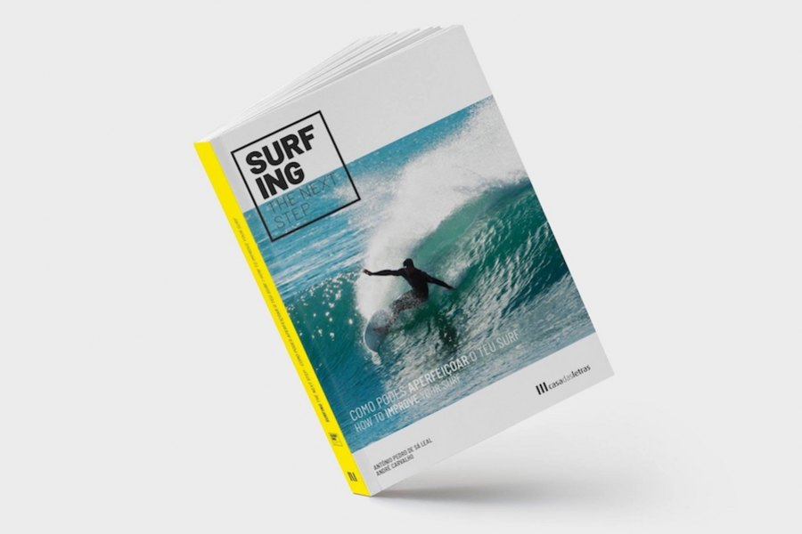 A capa do novo livro de surf - Surfing The Next Step