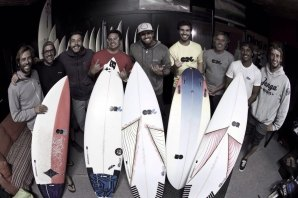 Uma parte do team ORG Surfboards
