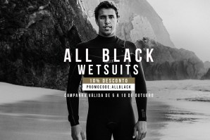 ALL BLACK WETSUIT BY DEEPLY