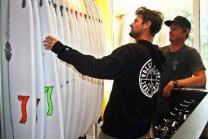 Team Semente Surfboards mostra novas pranchas no Norte