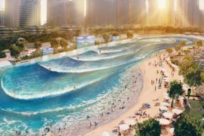 PARIS VAI TER UMA PISCINA DE ONDAS, A ENDLESS SURF