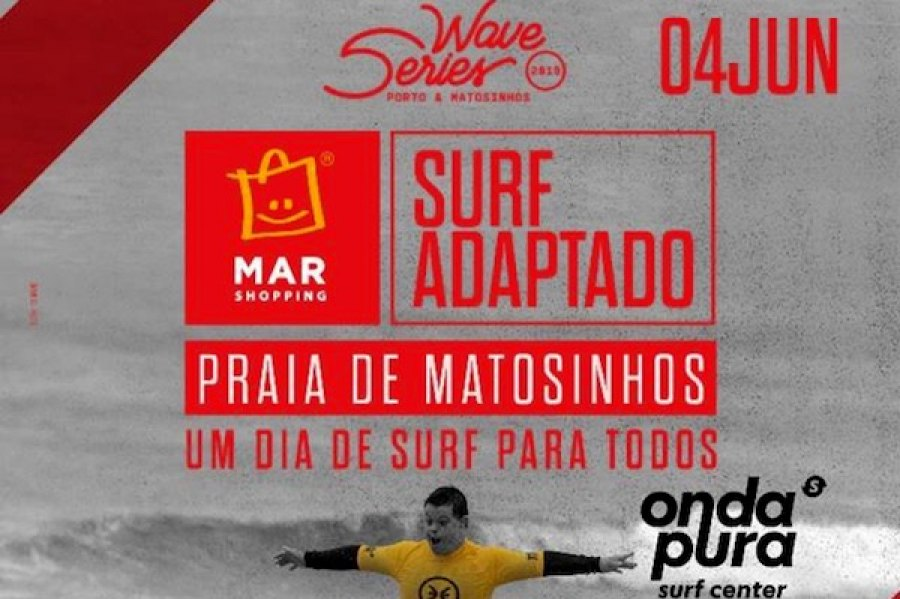 Cerca de 50 atletas de Surf Adaptado vão surfar nas ondas do Norte