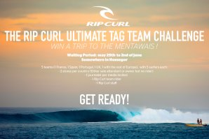 "RIP CURL ORGANIZOU ""THE ULTIMATE TAG TEAM CHALLENGE"""