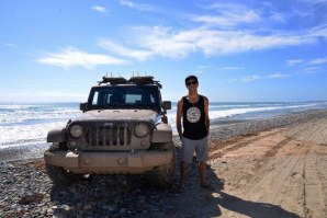 A AVENTURA DO SURF COM A JEEP