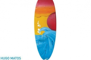 "SURFARTE 2014: ""MY FIRST BOARD"" DE HUGO MATOS"