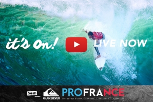QUIKSILVER PRO FRANCE ESTÁ ON