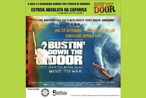 'BUSTIN' DOWN THE DOOR' NO CINEMA!
